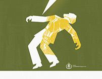 Poster para el concierto de Loma Prieta...