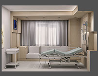 Duygu Hospital, Patient Room Design