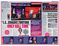 INDIA TODAY CONCLAUE MARCH 2015