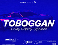 Toboggan - Utility Display Typeface