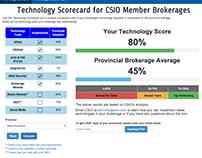 Tech Scorecard / Tech Map