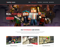 SerenityServers - Complete Web Design