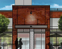 Architectural Detailing 2D Renders