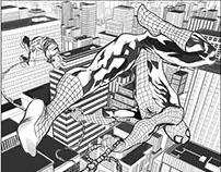 Spider-man sample pages