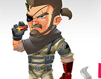 Big Boss from Metal Gear Solid V : The Phantom Pain!