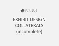 Work under Art Circle Gallery