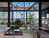 Steel-Bamboo Restaurant