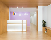 Lingoreta logopedia center for Encaixe Arquitectura