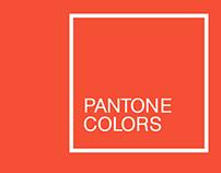 Pantone Colors (2000-2016)