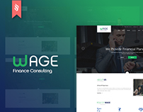 Wage - Business and Finance Website