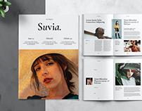 Minimalist Aesthetic Fashion Magazine Template