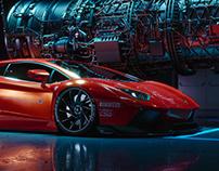 LB Aventador CGI