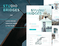 Studio Bridges - PSD Template