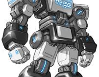 Blu-ray Robot II
