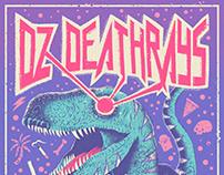 DZ Deathrays SA Tour Poster