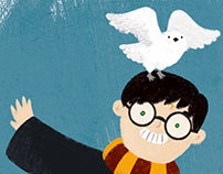 Illustration - Happy birthday, Harry Potter!