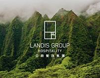 Landis Group 亞緻餐旅集團 Officail Website Layout Design