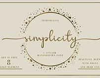 Free Simplicity Script Font