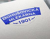 Bohušovická Mlékárna logo