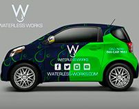 Waterless Work Car Wrap