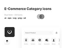 FREE E-commerce icons