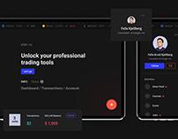 Cryptosiera UX/UI concept