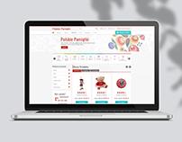 Webdesign - shop