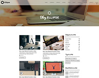 Ellipse - One page creative agency blog
