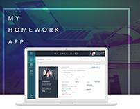 My Homework Desktop App