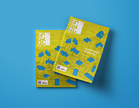 Cover design for Yerevan city magazine