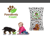 Pawsitively Fresh Package Design