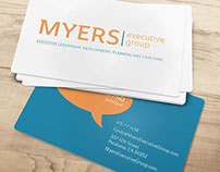 MYERS EXECUTIVE GROUP IDENTITY AND WEBSITE