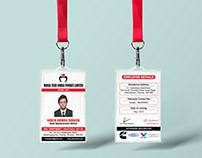 Minsa Tech Pvt Ltd. ID Card Design