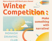 MDC Winter Art Competition Promo