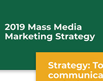Mass Media Marketing Strategy