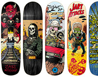 Jart Skateboards - 2017 Collection