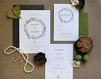 Rachel and Joseph Wedding Invitations