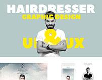 UI / UX Design - Haidresser Project