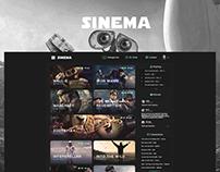 Sinema - Movie Streaming Site