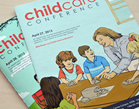 Childcare Conference Brochures