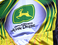 Corporate jersey. Team rider JOHN DEERE