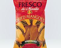 Premium Philippine Dried Mango Packaging