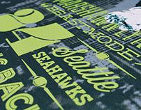 Hawks Nest | Football Poster Series
