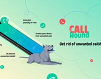 CallHound Unwanted Calls Block app