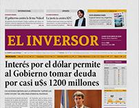Diseño de diario económico / Newspaper