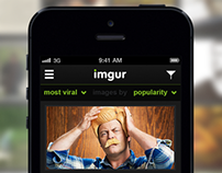imgur iOS App Concept