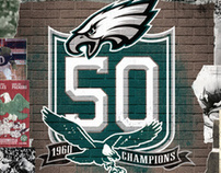 Philadelphia Eagles 1960 Championship Celebration
