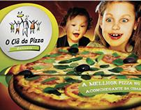 Cardápio O Clã da Pizza