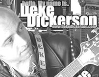 Flyer: Deke Dickerson