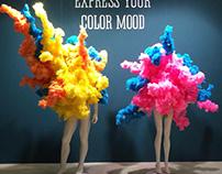 #2 Show case for Orange club - Color mood